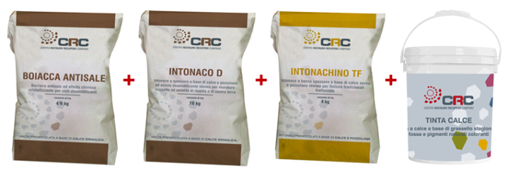 ciclo deumidificante CRC