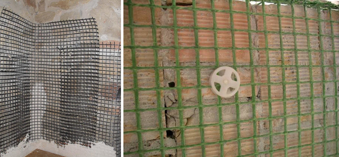 Reti in fibra di vetro per l edilizia chiarimenti - Rete porta intonaco ...